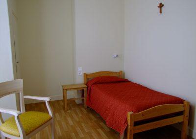 Chambre simple 1er étage - Maison d'accueil de la Basilique Saint-Martin de Tours