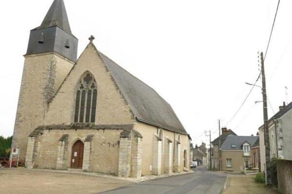 Église Saint-Martin à Monnaie (37)