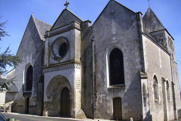 Église Saint-Martin-le-Beau (37)