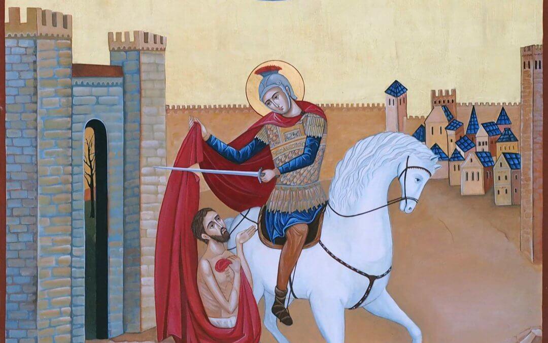 Saint Martin homme de paix