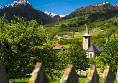 Sixtine des Alpes (Suisse)