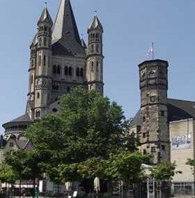Église Saint Martin de Cologne (Allemagne)