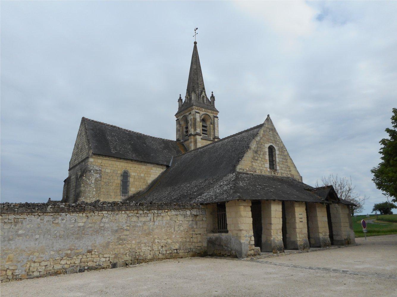 Église Saint-Martin à Breux-Jouy (91)