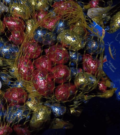 Vente des œufs de Pâques….